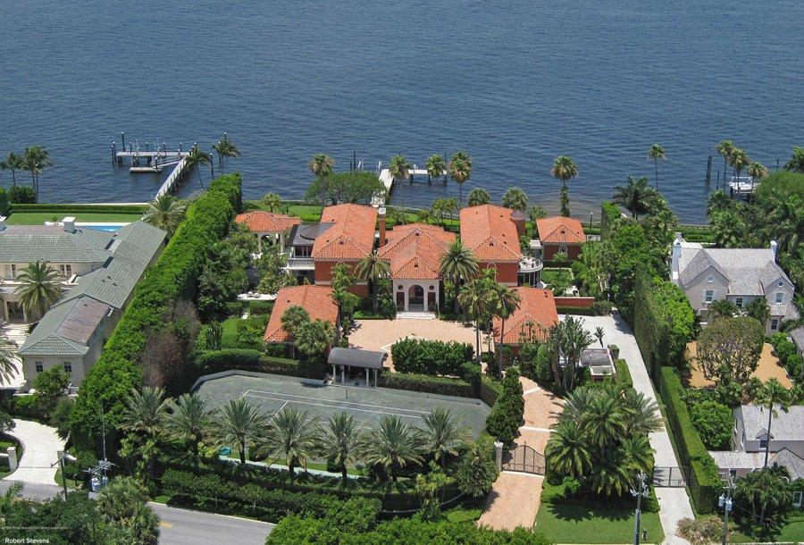 8 佛罗里达棕榈海滩百花庄园-1.3亿美元