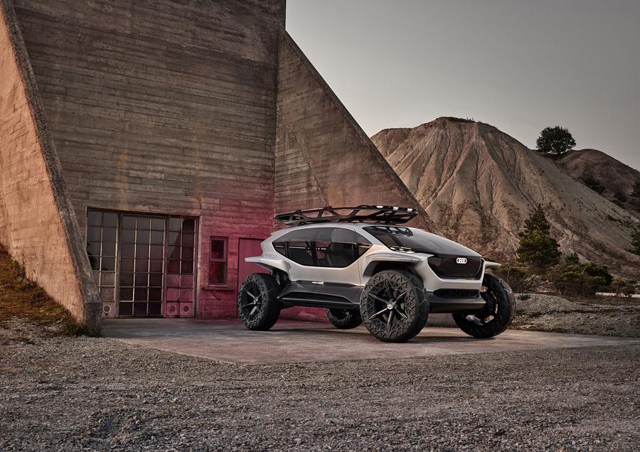 奥迪AI-Trail Quattro未来概念车